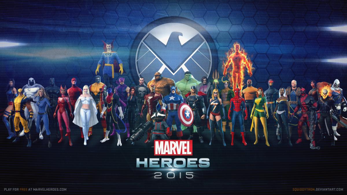 marvel heroes games